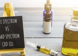 full spectrum vs broad spectrum cbd oil