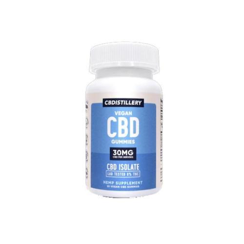 CBDistillery CBD vegan gummies 30mg cbd