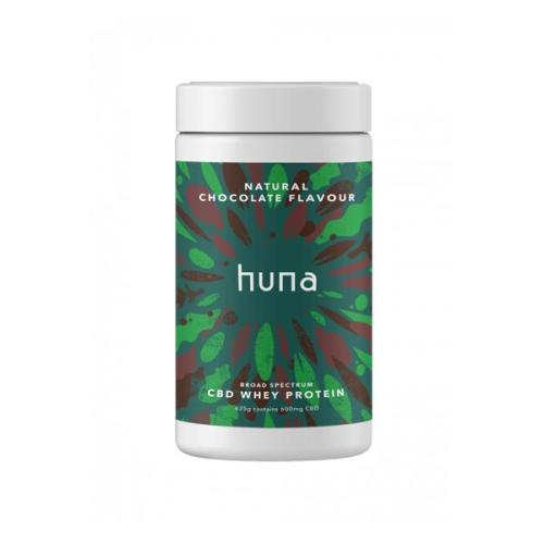 Huna Labs CBD whey protein chocolate flavour 600mg cbd