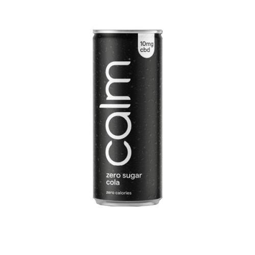 Calm CBD drinks zero sugar cola 10mg cbd