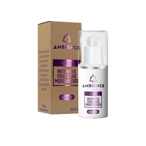 ambience cbd foot moisturiser 50mg cbd