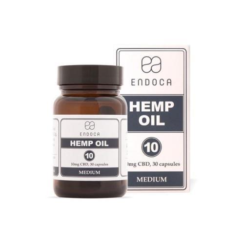 Endoca 300mg CBD Capsules Hemp Oil 30 Soft Gel's uk