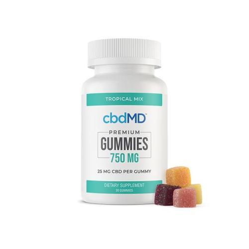 cbdMD 750mg CBD Gummies – 30 pack UK