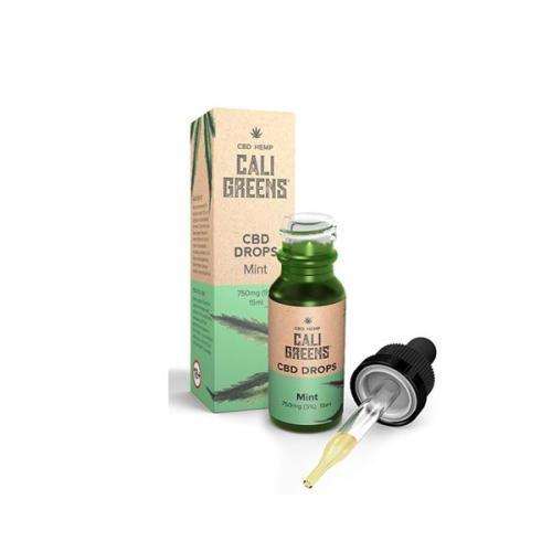 Cali Greens 750mg CBD Oral Drops MINT UK