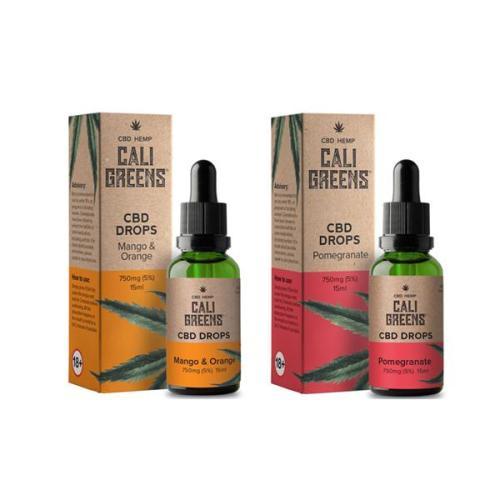 Cali Greens 750mg CBD Oral Drops
