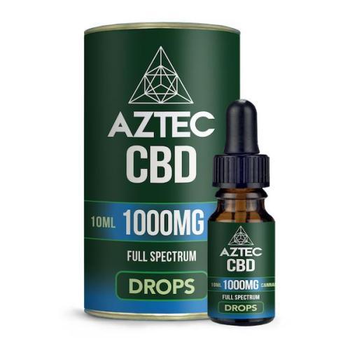 Aztec CBD Full Spectrum 1000mg CBD OIL uk