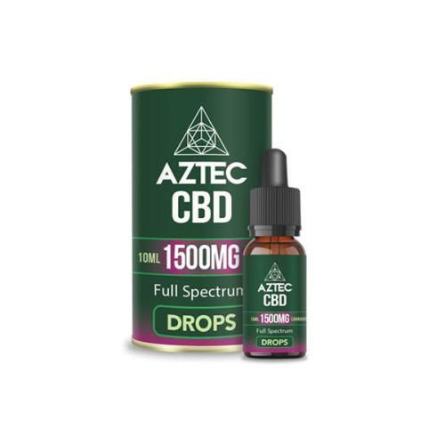 Aztec CBD Full Spectrum 1500mg CBD OIL UK