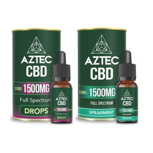 Aztec CBD Full Spectrum 1500mg CBD OILS UK