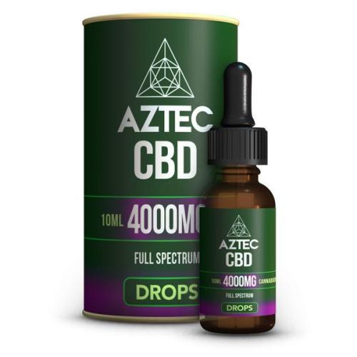 Aztec CBD Full Spectrum 4000mg CBD OILS UK