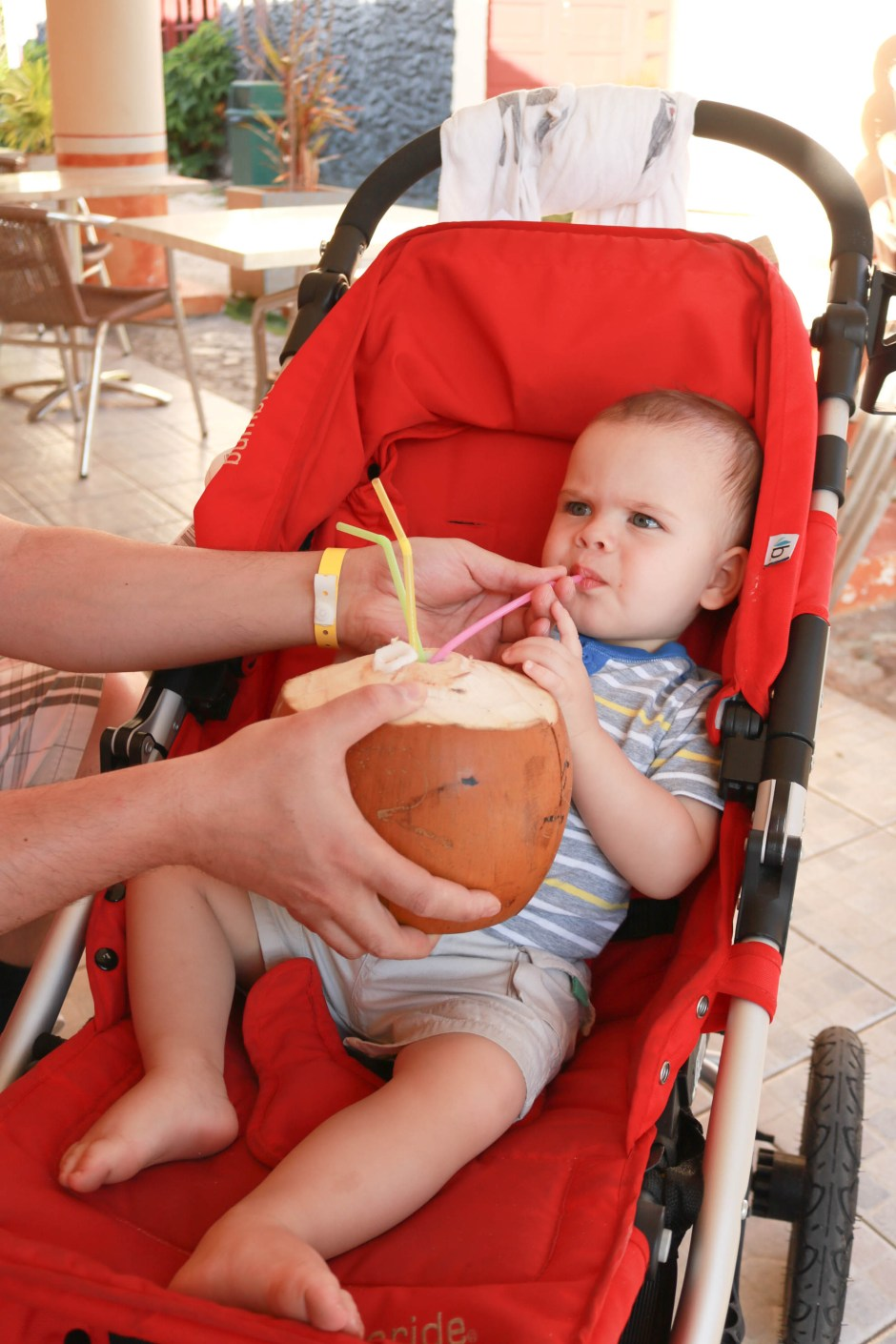 coconut water tips travelling with toddler cuba