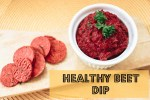 healthy quick & easy beet dip
