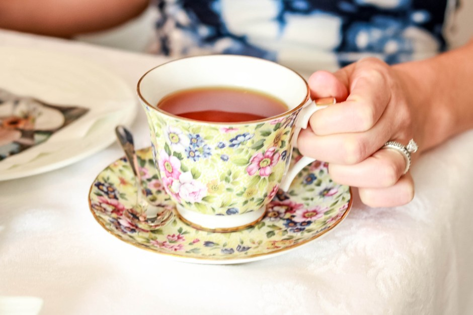 mother's day afternoon tea, teacup