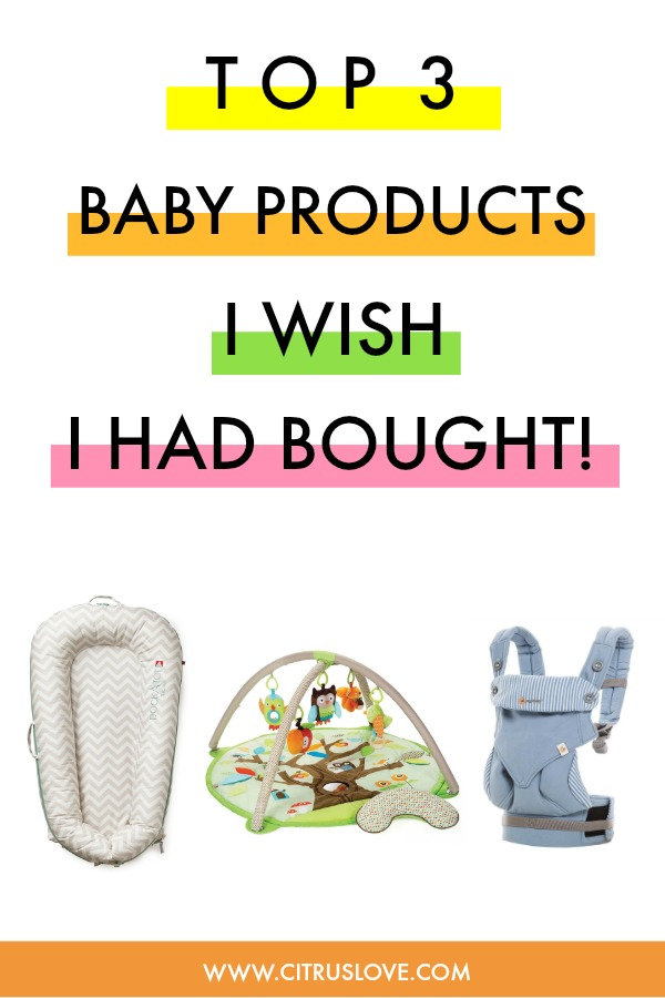 top 3 baby products i should and wish i had bought, newborn items, baby products