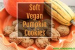 blog recipe, vegan, gluten free dessert, cookie, pumpkin, fall recipe