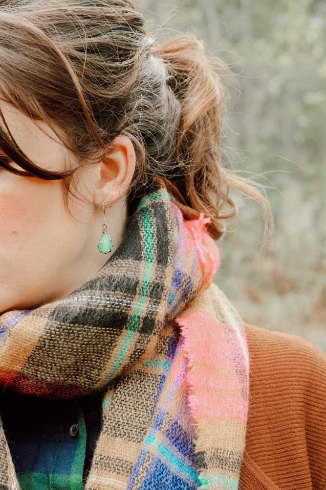 winter style, fashion tips, plaid on plaid, plaid shirt, plaid scarf
