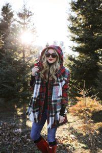 plaid on plaid trend, winter style, plaid shirt
