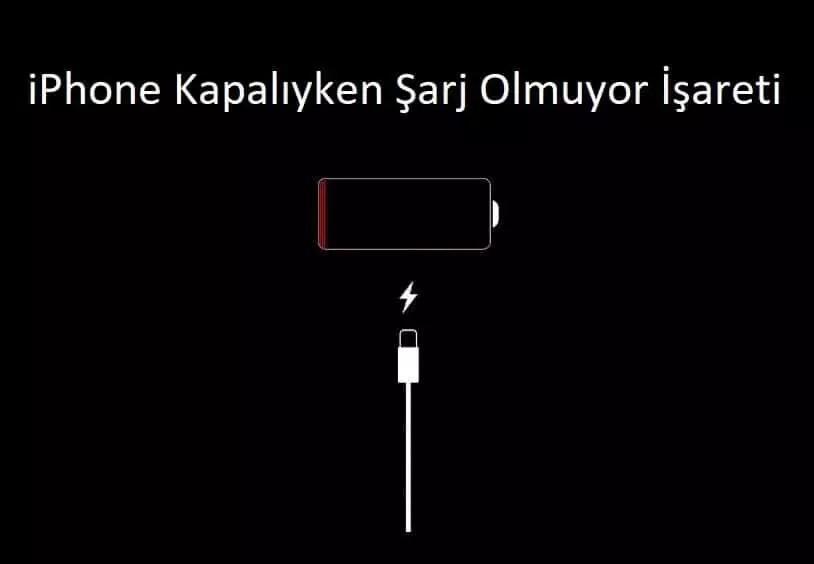 iPhone kapaliyken sarj olmuyor 1