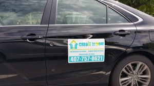 Home Credit Car Magnet Signs Clermont
