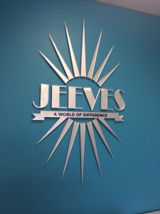 Jeeves Property Management 3D Lobby Signage