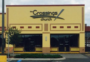 The Crossings Church Sign