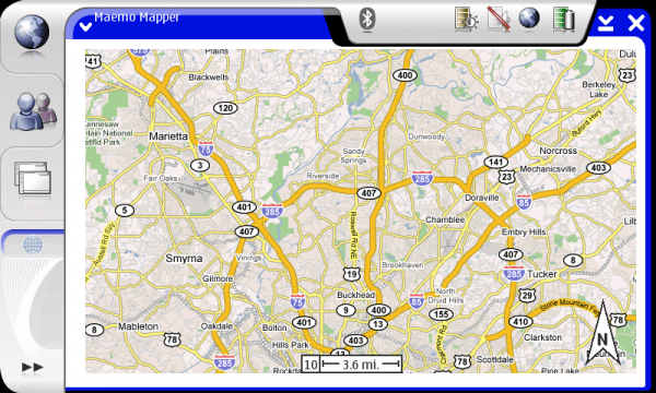 Atlanta39s future sidekick White cities maps driving