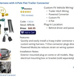 towing with 2016 dodge sxt grand caravan mini van trailer pickuptowing with 2016 dodge [ 1438 x 865 Pixel ]