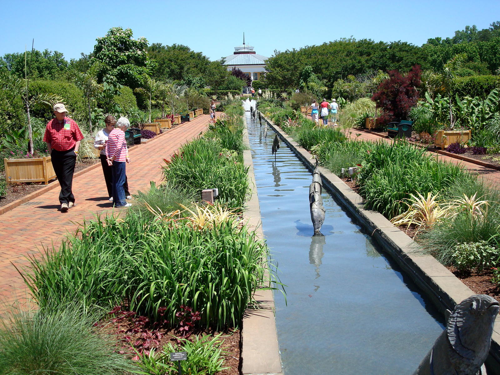 Daniel Stowe Botanical Garden Charlotte appointed house landscaping  North Carolina NC