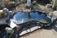 preformed garden ponds (frost, summer, pump, eat) - Trees ...