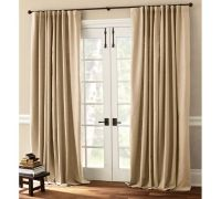 What window treatment for patio sliding door? (drape ...