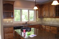 Need help with Granite for Knotty Alder Cabinets (floor ...