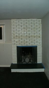 Help with my 1970s fireplace makeover! - Home Interior ...