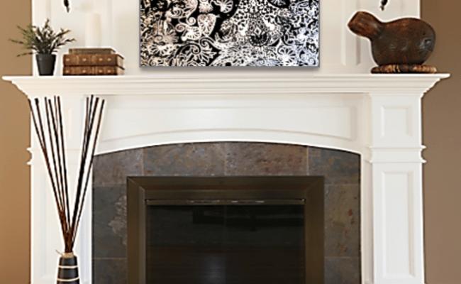 Photos Bild Galeria Decor Above Fireplace