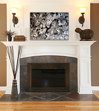 Photos - Bild - Galeria: DECOR ABOVE FIREPLACE
