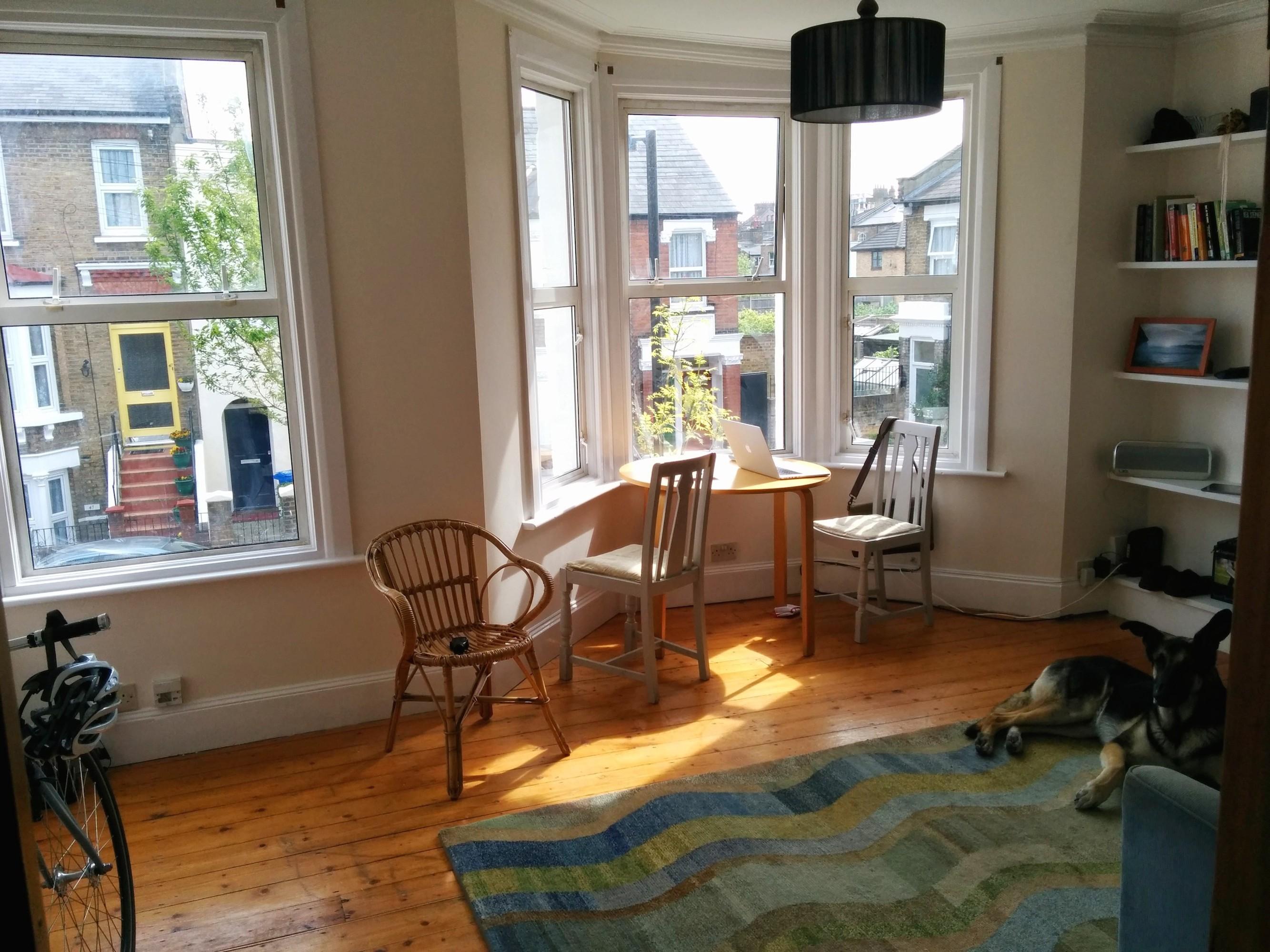 Layout advice for combination livingdining room hardwood