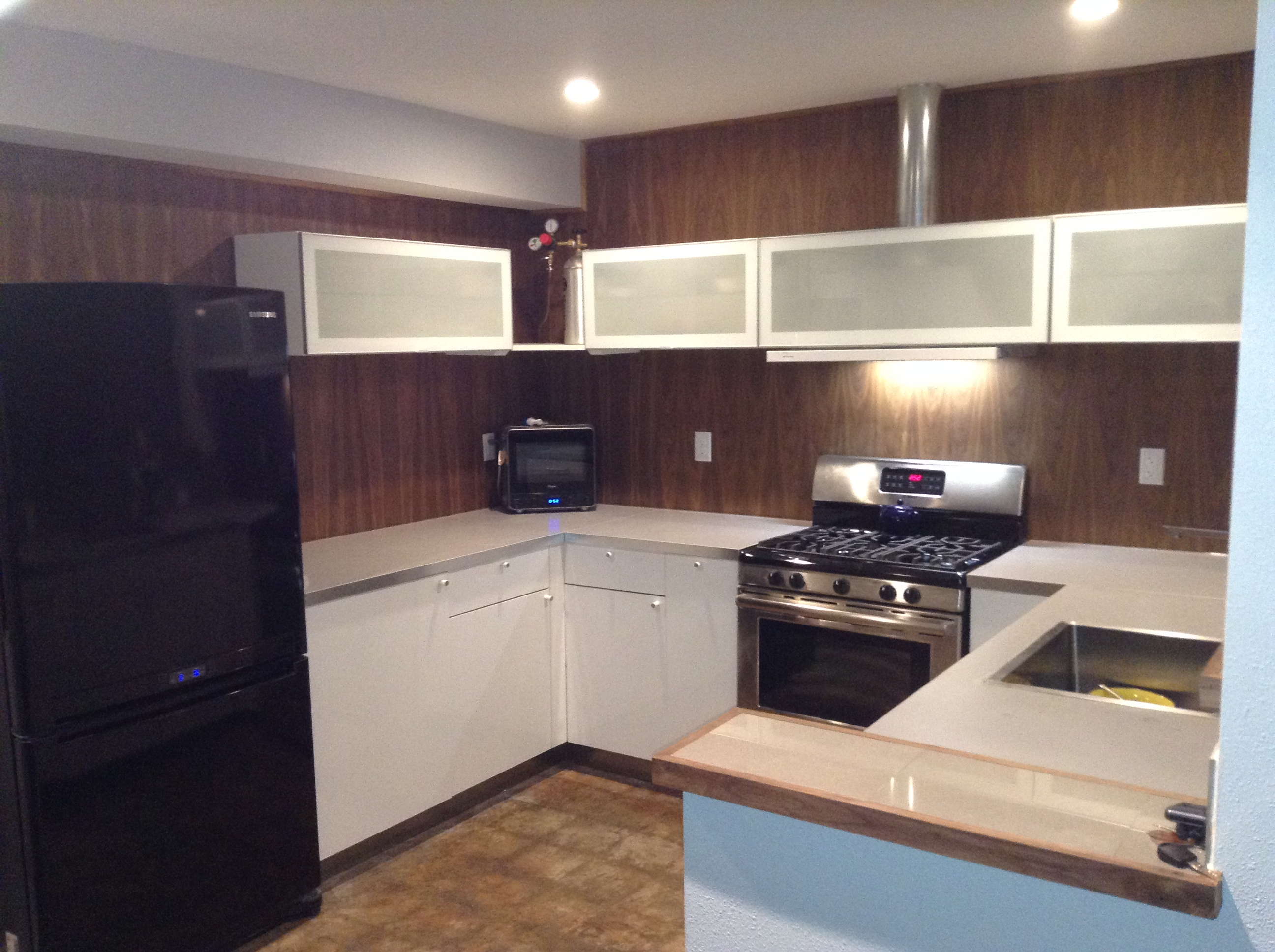 ikea kitchen countertop small table and chairs for two my install floor paneling countertops sink home img 1998 jpg