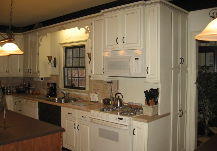 Painting Kitchen Cabinets Espresso