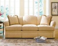 Need help with LR furniture--yellow sofa & chair (hardwood ...