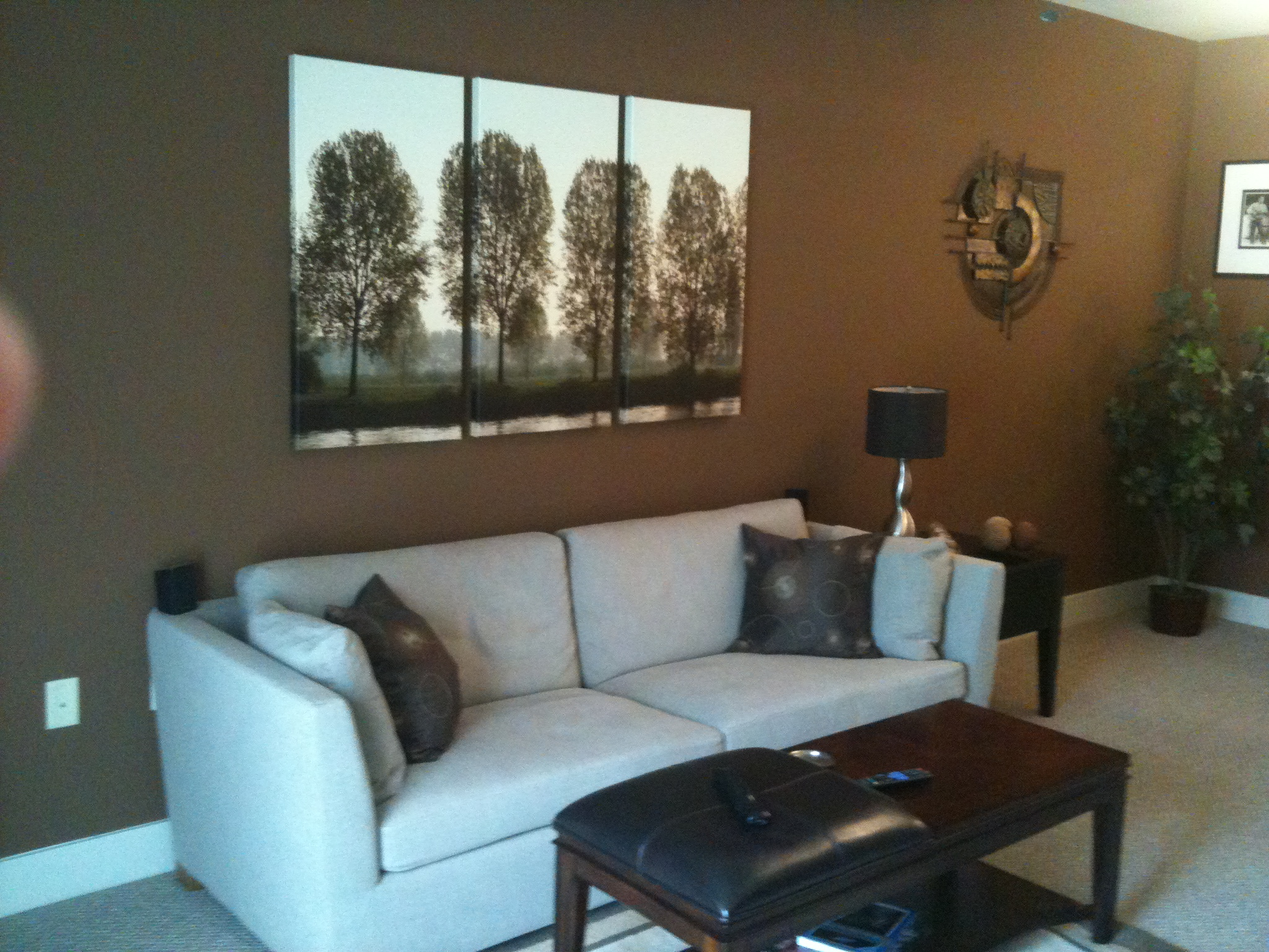 what color should i paint my living room with a tan couch curtains designs for bachelor needs advice on floor drapes photo5 jpg