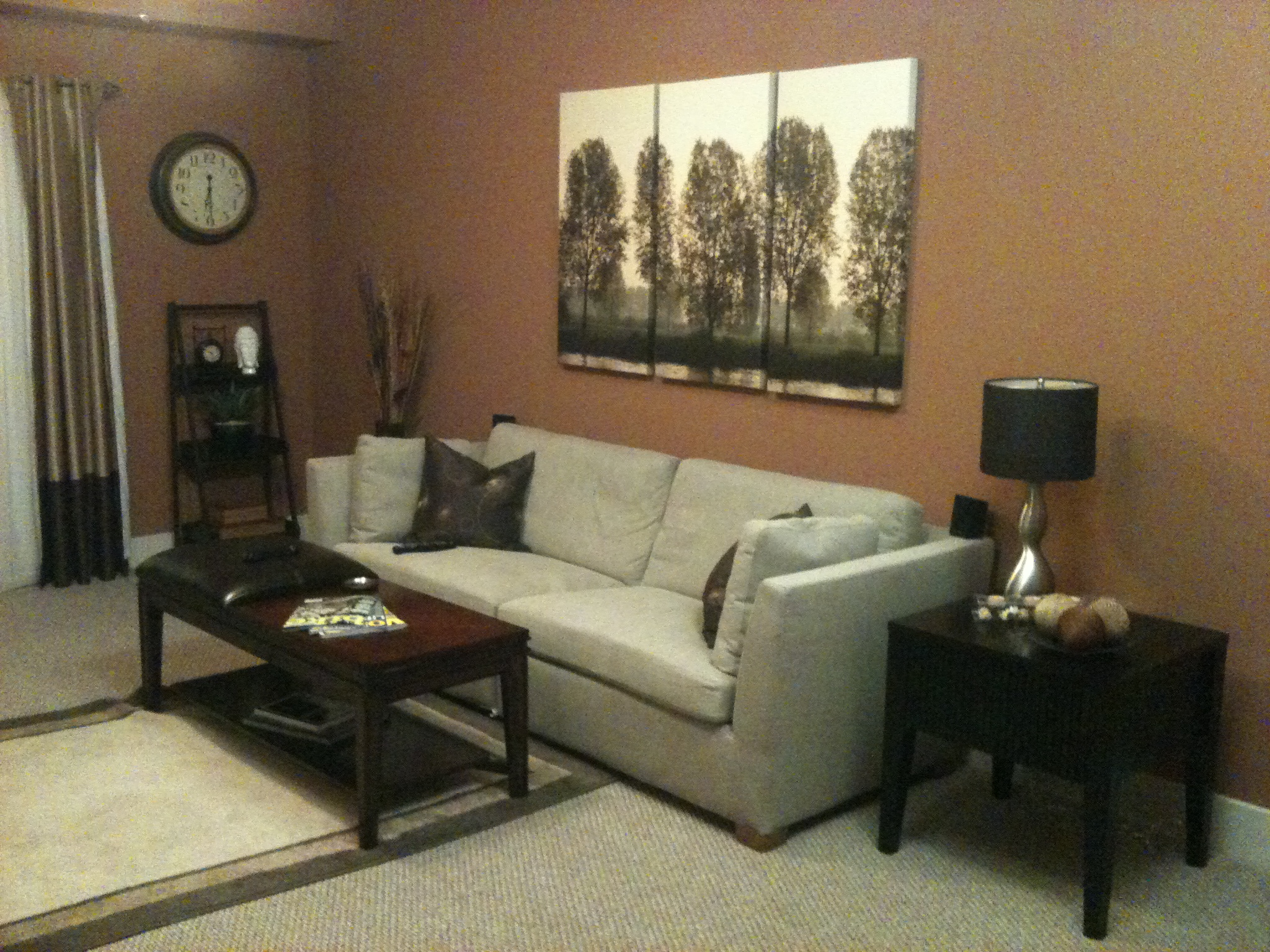 brown paint schemes for living room four chairs bachelor needs advice on color home interior living1 jpg