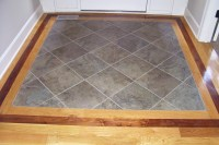 Tile Entryway on Pinterest | Entryway Flooring, Slate ...