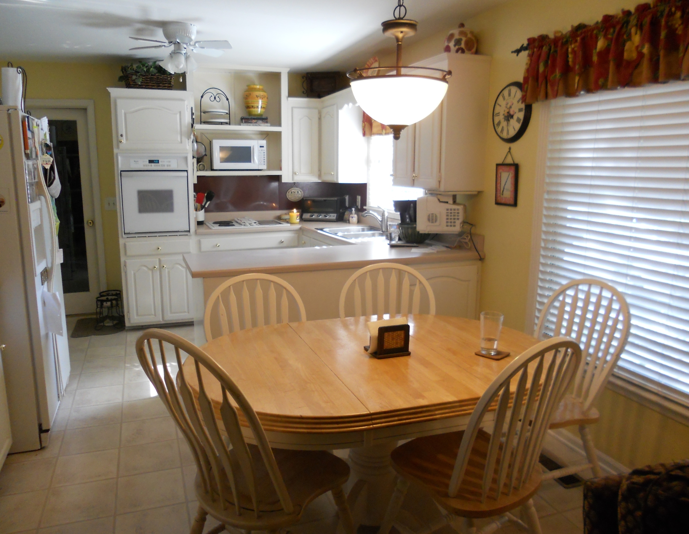 white appliances kitchen bar tables preciousinstants brown painted cabinets with