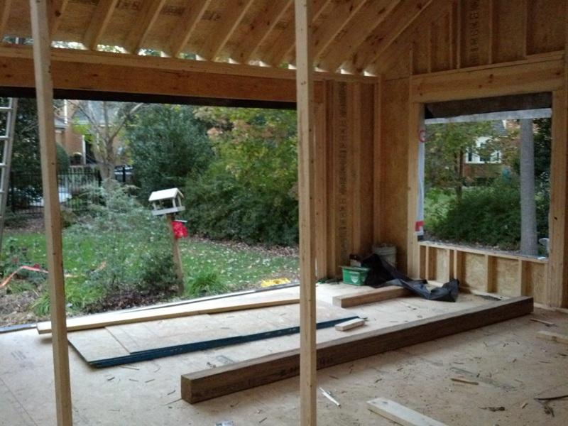 Framing A Sliding Glass Door Opening Frameswalls