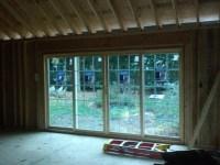 installing new header for 16 ft sliding glass door (living ...
