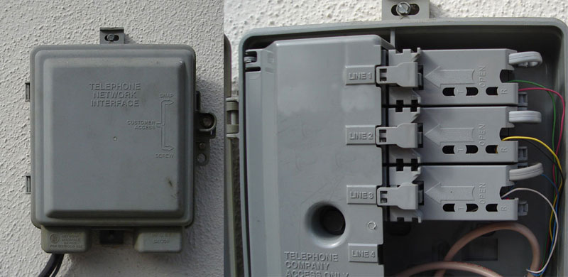 Home Phone Junction Box Wiring