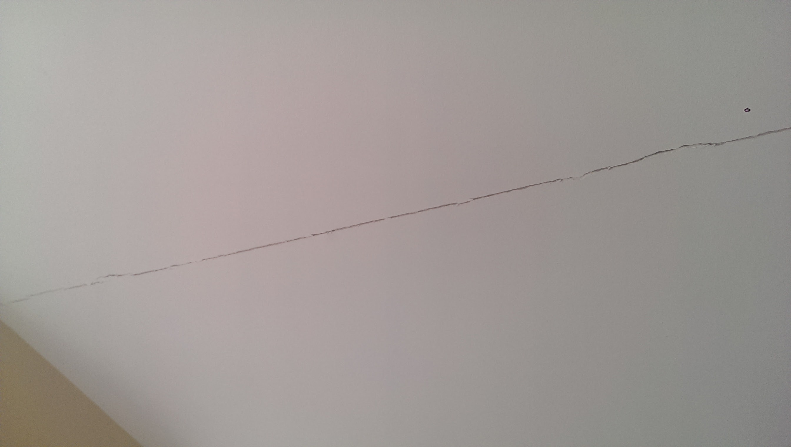 Cracks in my ceiling and wall