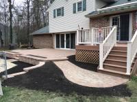 Adding patio off of ground