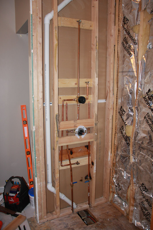 Is This Tub Shower Plumbing Roughed In Correctly Floor How Much Window House Remodeling Decorating Construction Energy Use Kitchen Bathroom Bedroom Building Rooms City Data Forum