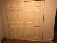 Sliding aluminum closet doors rattling (Air Conditioner ...