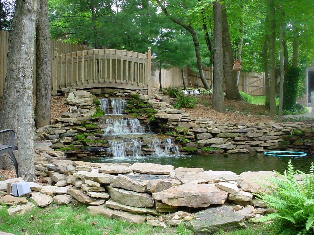 Backyard Water Feature!!!!! (window, AC, stove, basement