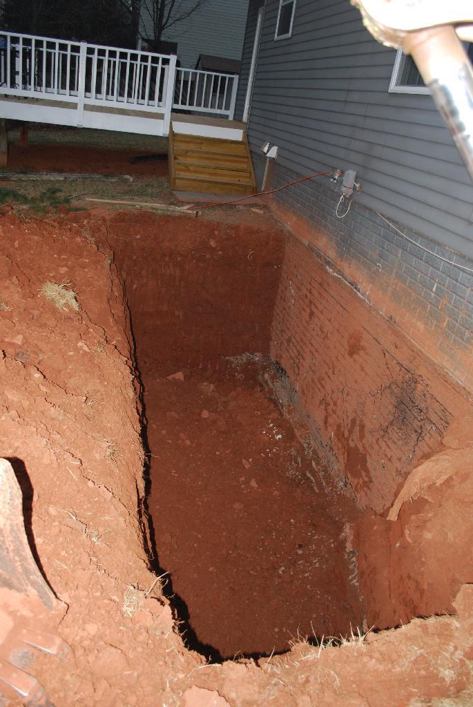 Walkout basement  Before  After  floor how